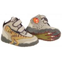 Dinosoles 3D X10 patike T-Rex duboke Braon