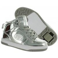 Heelys Girls X1 Flash Chrome Silver