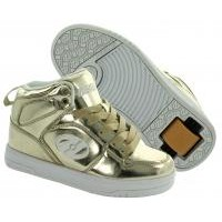 Heelys Girls X1 Flash Chrome Gold