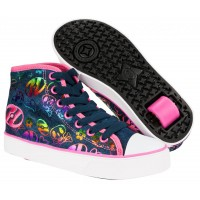 Heelys Girls X1 Veloz Denim/Multi