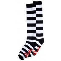 Rookie čarape za rolšue Black/White