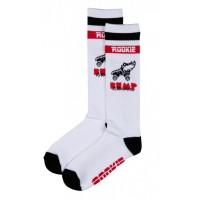 Rookie čarape za rolšue 16'' Mid Calf BUMPWhite/Red