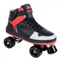 Rookie RollerskatesHype Hi Top TrainerBlack/Red