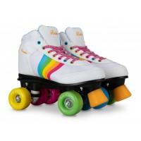 Rookie Rollerskates Forever Rainbow White/Multi